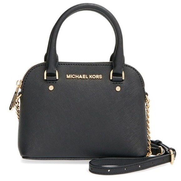 MICHAEL Michael Kors Bags   Black Cindy Extrasmall Saffiano Leather ... 71d305461e